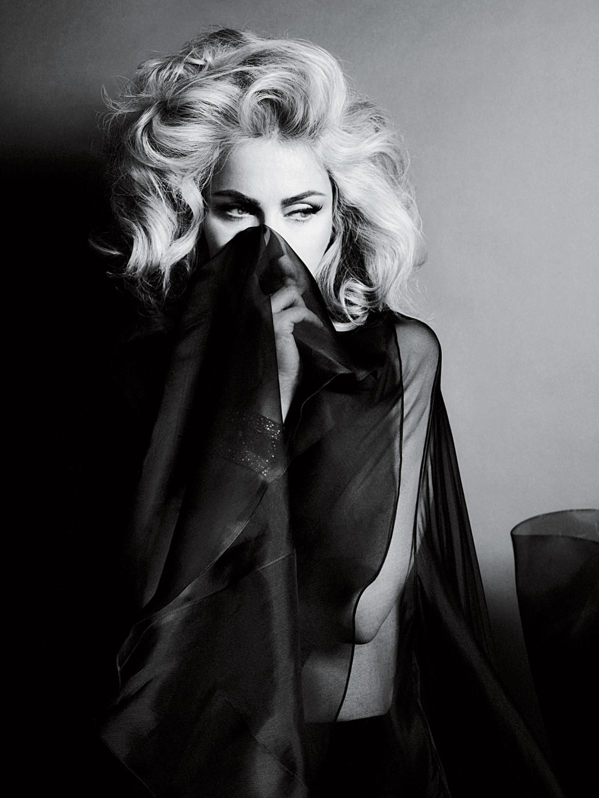 magazine Madonna interview
