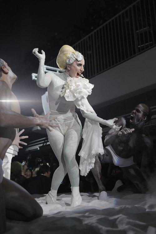 Lady Gaga Met Gala 2010