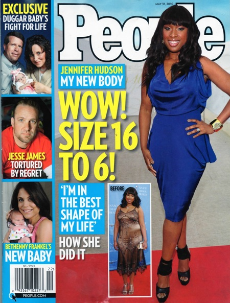 Jennifer Hudson From Size 16 To Size 6!! | Gossip & News ...